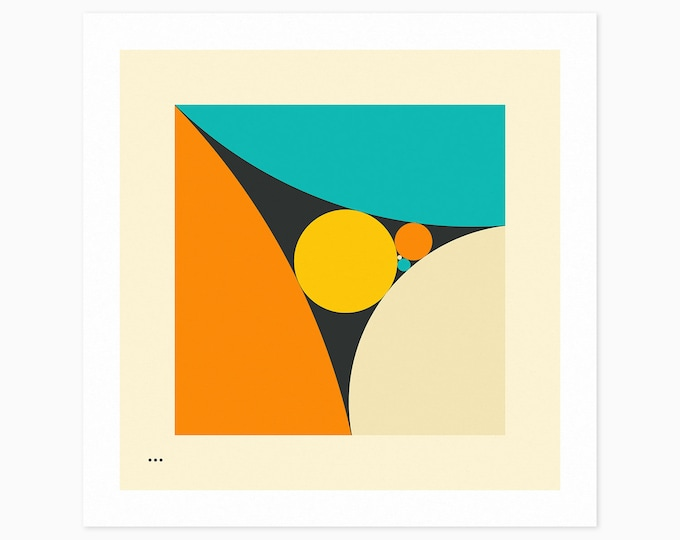 COXETER SEQUENCE (Fine Art Print) Minimal, Geometric, Abstract Wall Art