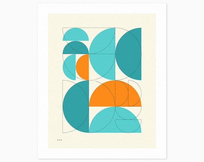 IMAGINARY 26 (Fine Art Print) Geometric Abstract Art by Jazzberry Blue