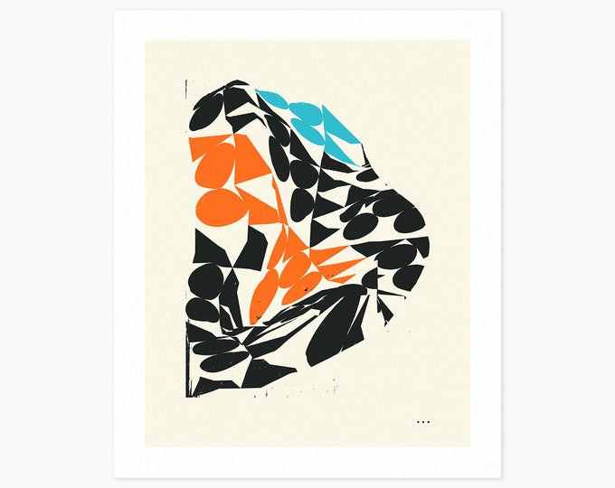 SUNRISE (Fine Art Print) Minimal, Geometric, Abstract Wall Art