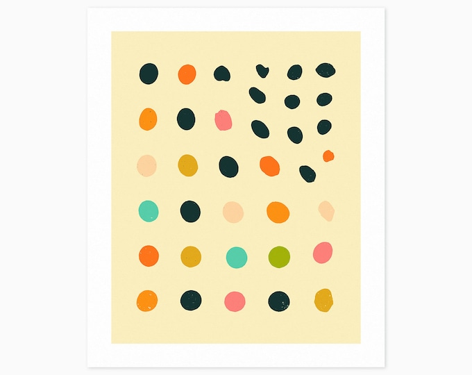 AMBIENT (Fine Art Print) Colorful, Minimal, Abstract Wall Art