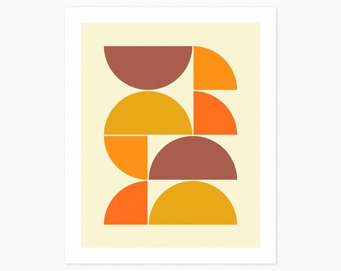 SYSTEMS 44 (Fine Art Print) Minimal Geometric Art by Jazzberry Blue