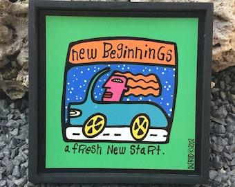 New Beginnings Plaque