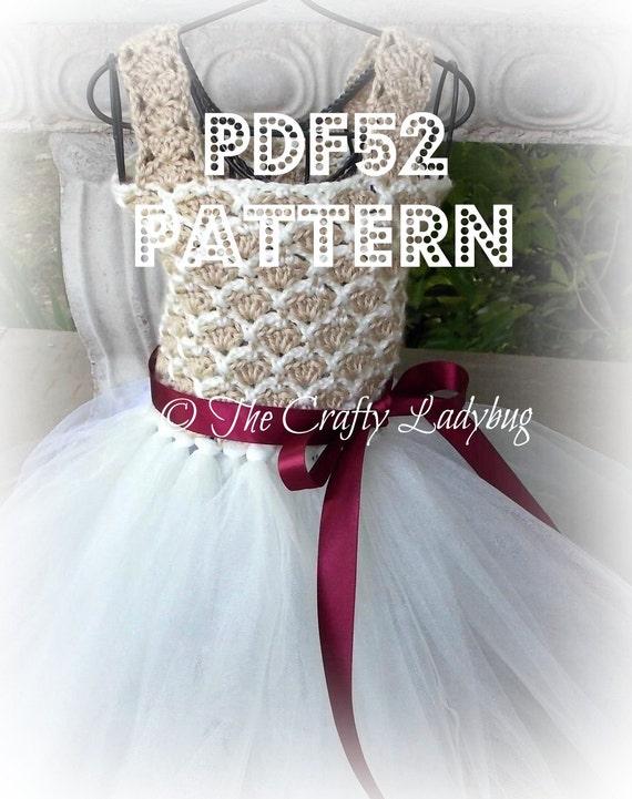 Crochet And Tulle Tutu Dress Iii Pattern Pdf52 Digital
