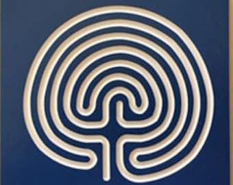 image regarding Finger Labyrinth Printable identified as Finger labyrinth Etsy