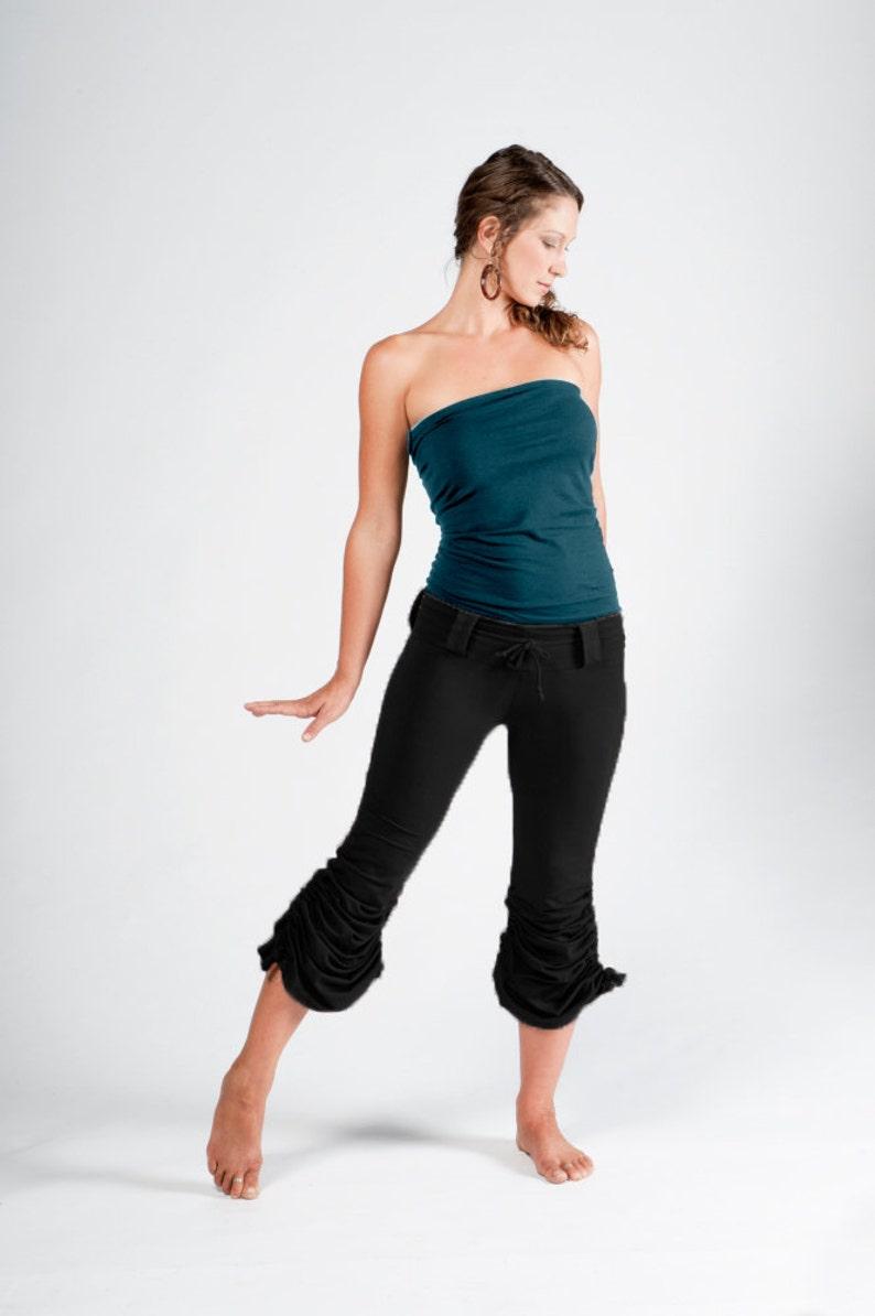 Cinchy Pants-Womens bottoms-sexy black pants-unique womens image 0
