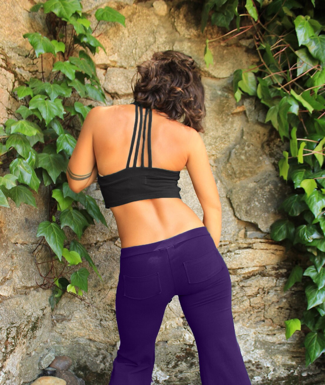 465e528d7a Strappy Crop Top-yoga sports bra-workout crop top-funky