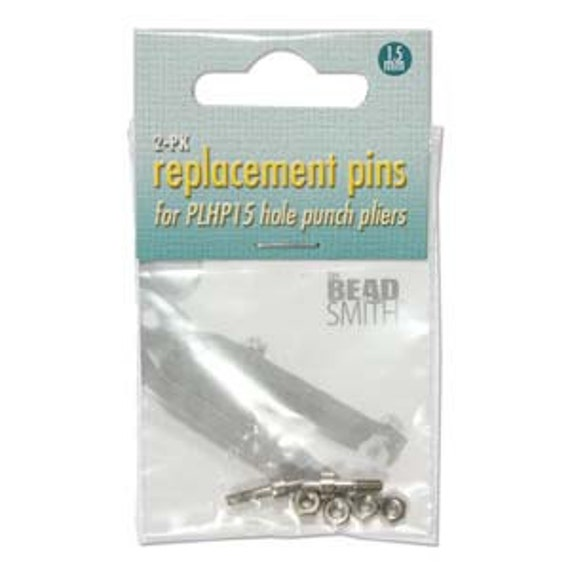Replacement Pins for Beadsmiths 1.5mm Hole Punch Pliers Pkg Of 2