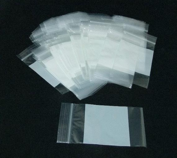 Self Locking 2x1.5 inch 2mil Plastic Storage Bags 100 Qty