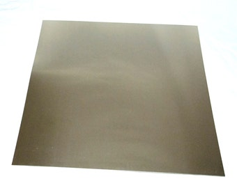 "Nickel Silver Sheet 26ga 12"" x 12"" .41mm Thick New Lower Price"