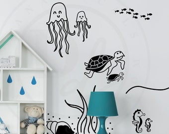 """Autocollant Vinyle Enfant Mur Citation /""""Shoot for the Moon.../"""" Autocollant Mural transfert"""