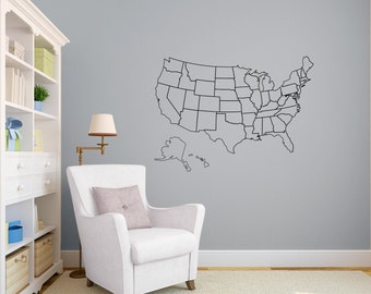 United States Map Etsy
