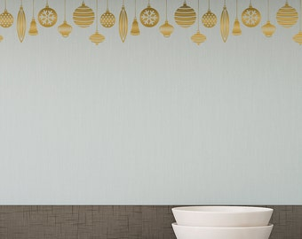 Patterned Ornaments -Wall Decal Custom Vinyl Art Stickers