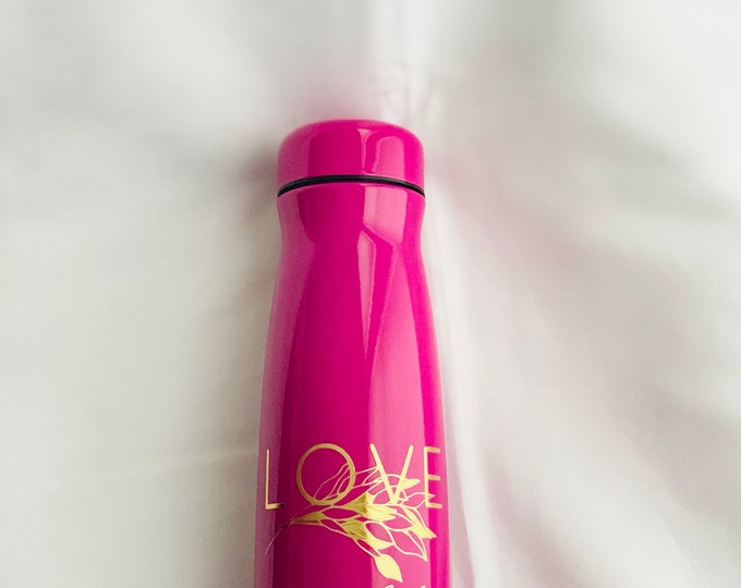 Love Never Fails Stainless Thermos 17oz