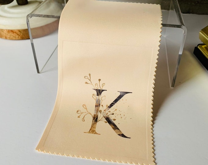 Monogram #2 Microfiber Cloth and Stylus Gift Set