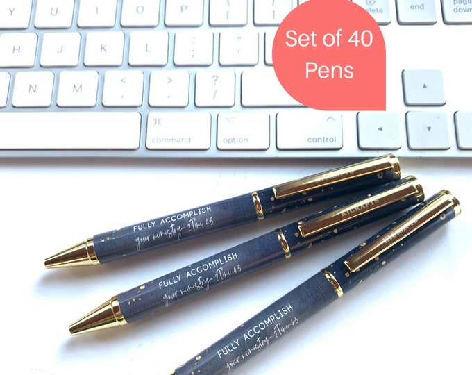Fully Accomplish Your Ministry - Gift Pens 40