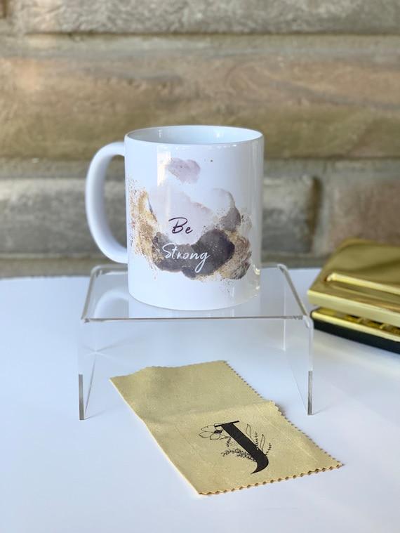 Be Strong Monogram Mug