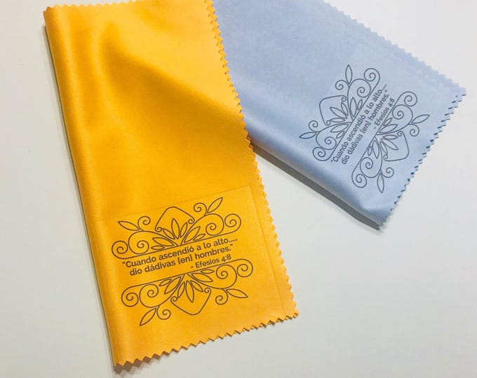 25 Microfiber Cloths-Thank You Gift for Elders with Ephesians 4:8