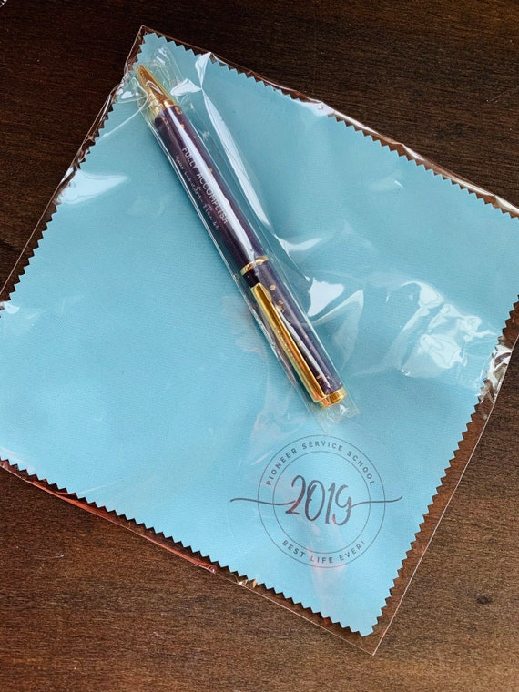 Pioneer Microfiber Cloth and Pen Gift Set - Blue