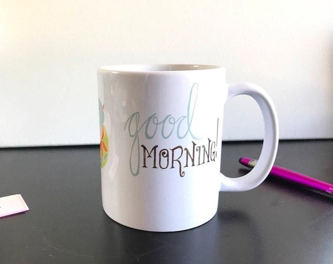 Little Birdie Good Morning! Mug
