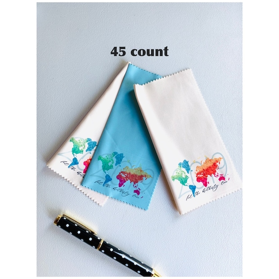 2019 International Convention Assorted Microfiber Cloths  with Convention City 45 count