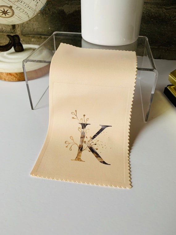 Monogram #2 Microfiber Cloths