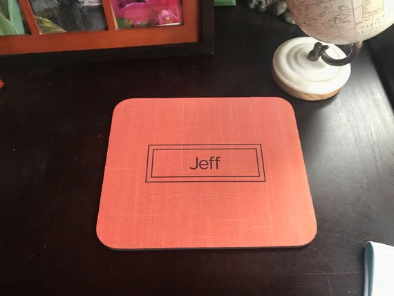 Custom Handmade Mousepad - Personalized