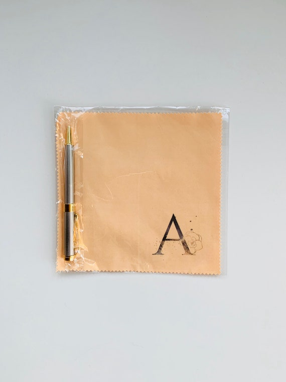 Monogram Microfiber Cloth and Stylus Gift Set -A