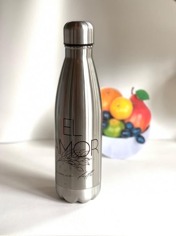 El Amor Nunca Falla Stainless Steel Water Bottle 17oz