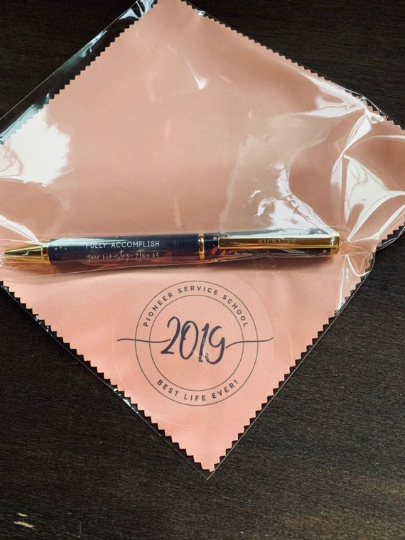 Pioneer Microfiber Cloth and Pen Gift Set - Pink