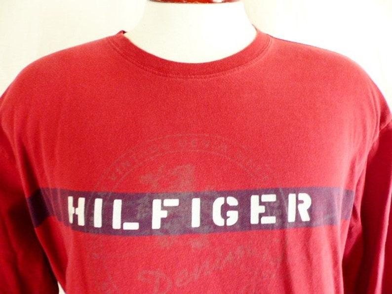 a4d99f8a Vintage 90's Tommy Hilfiger Tommy Jeans designer crest | Etsy