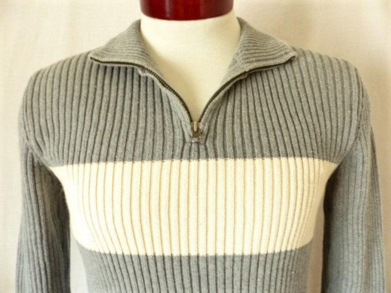 7555cf9fad8 Ralph Lauren Polo Jeans Co vintage 90s heather gray rib knit