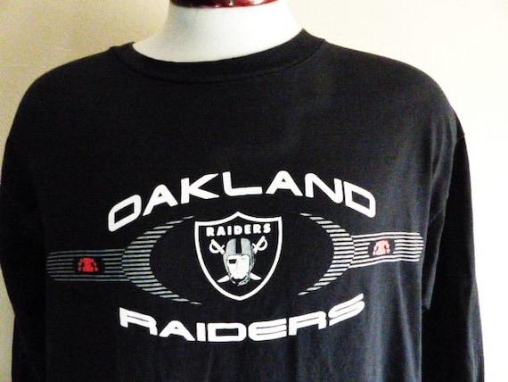 go raider nation vintage 90 s Oakland Raiders NFL Football  69dc24cba