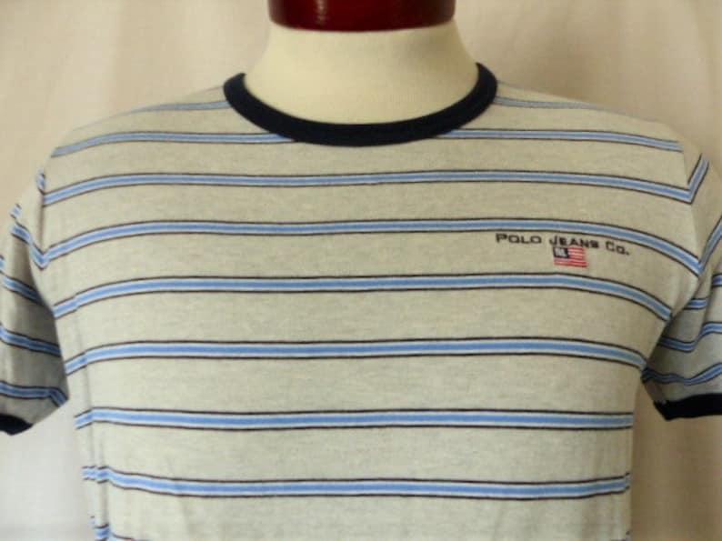 9c5db487d0 Ralph Lauren Polo Jeans Company vintage 90's heather grey | Etsy