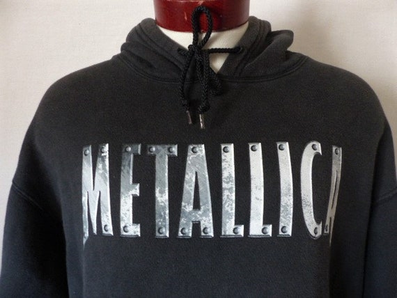 Metallica Hoodie Metal Rock Band Logo Unisex Hooded Pullover Adult Sizes S-XL
