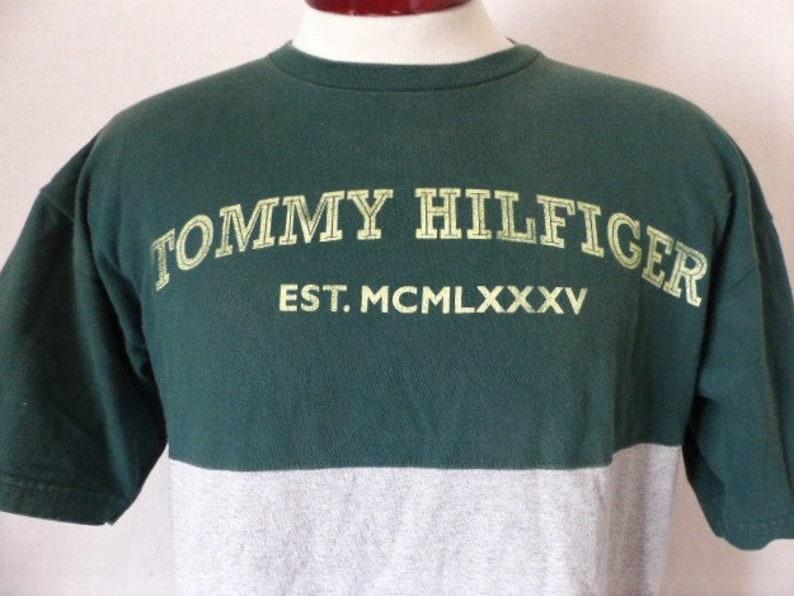 8bcd115f Tommy Hilfiger Est. MCMLXXXV vintage 90's Mercedes-Benz | Etsy