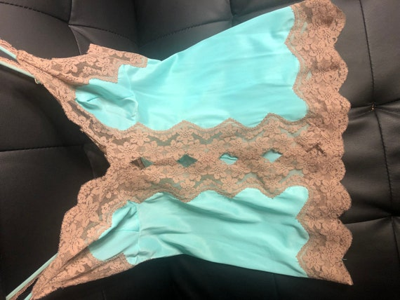 70s Vintage Frederick's of Hollywood Lace Camisole - image 7