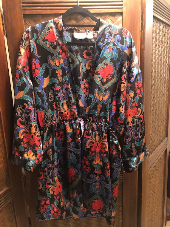 1980s Gold Label Victoria's Secret Robe