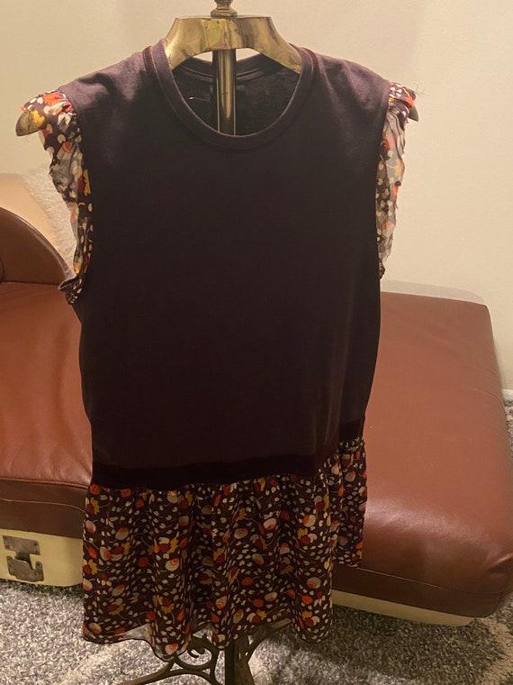 Vintage Anna Sui Dress size petite small - image 4