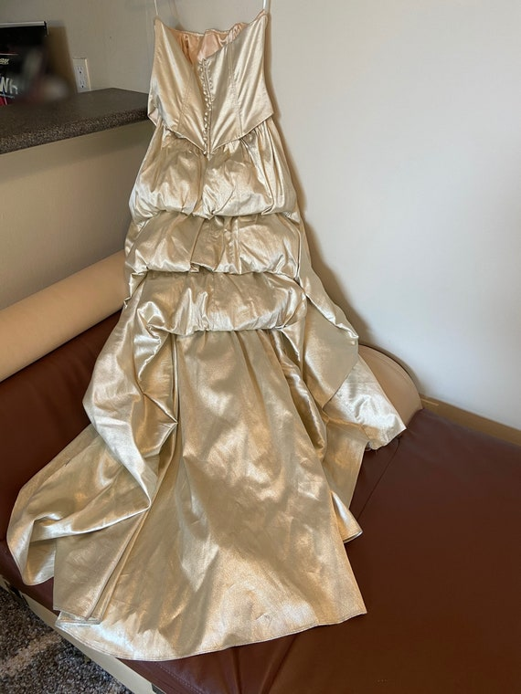 80s Vintage Jessica McClintock Ball Gown