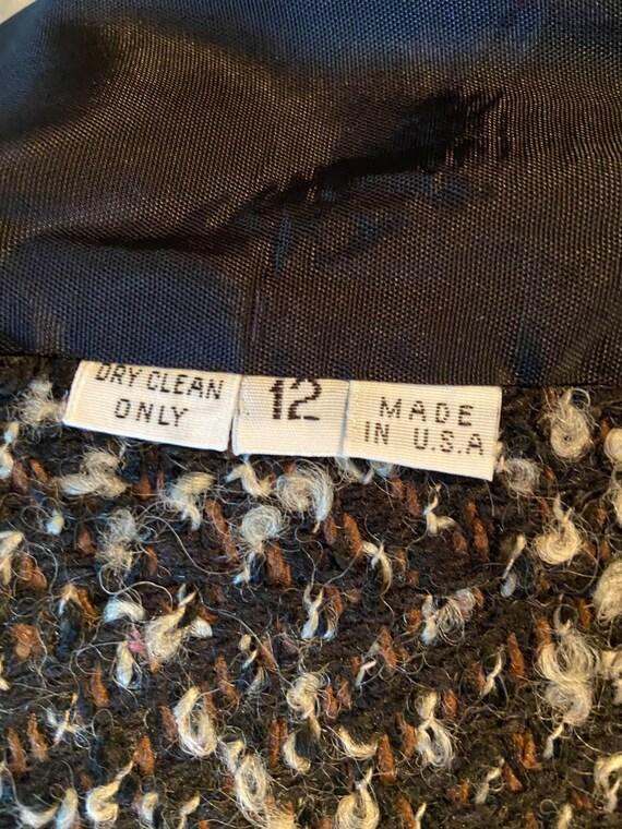 80's Vintage Tweed Jacket - image 3