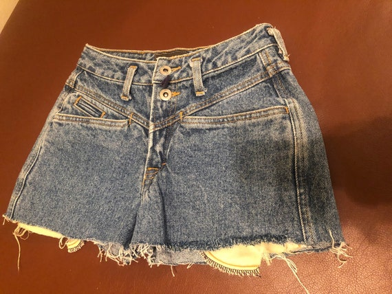 80s Vintage High Waisted Espirit Cut Off Shorts