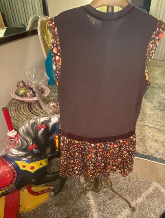 Vintage Anna Sui Dress size petite small - image 6