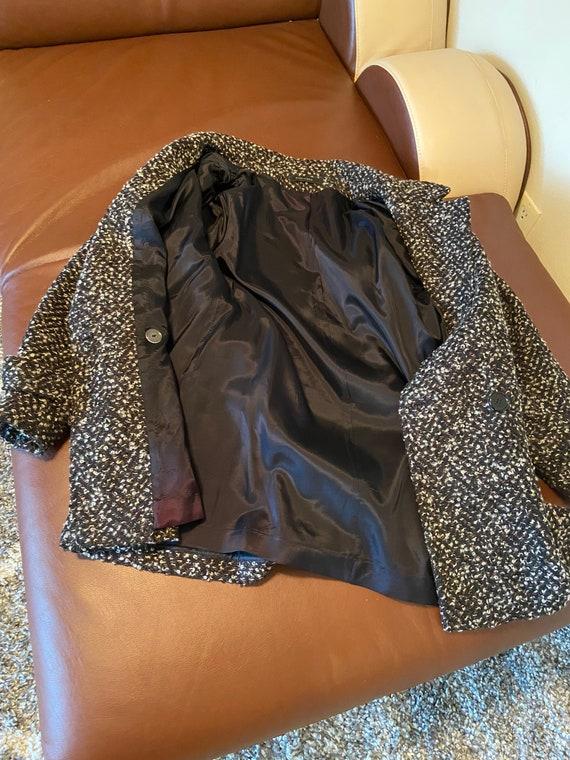 80's Vintage Tweed Jacket - image 9