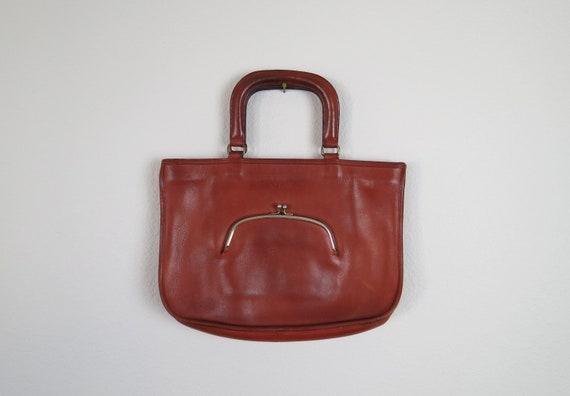 vintage 1970s Coach leather purse Bonnie Cashin er