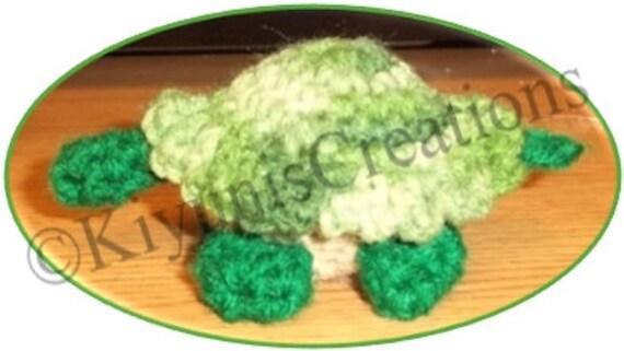 Henry la tortue heureuse Crochet Pattern