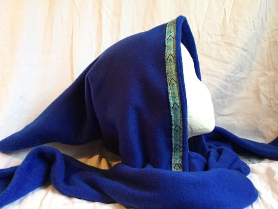 Dark Blue  Woodland Elf Fleece Scoodie