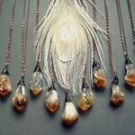 Raw Citrine Necklace - Raw Gemstone Necklace - Raw Crystal Necklace - Boho Crystal Pendant - November Birthstone Necklace - Crystal Jewelry