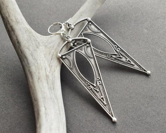 Everyday Earrings Festival Street Jewelry Boho Earrings for Women Festival Earrings Triangle Statement Jewelry Triangle Earrings