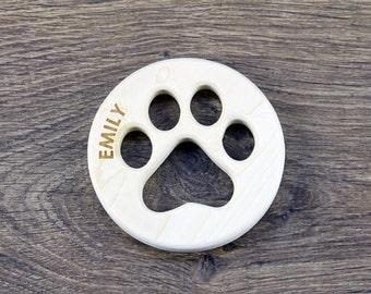 PERSONNALISÉS / Respectueux de l'environnement Bois dentition / Natural jouet de bébé