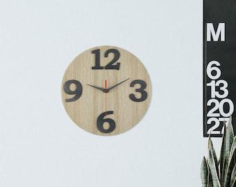 Wooden Wall Clock / Home Decor / Housewares / Clock